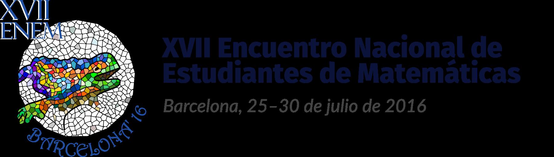 XVII Encuentro Nacional de Estudiantes de Matemáticas – XVII ENEM